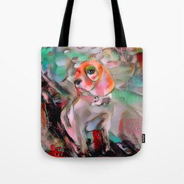 The Offended Beagle Tote Bag