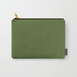 Dark Olive Green Carry-All Pouch