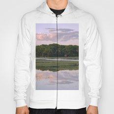 Annisquam river reflections Hoody