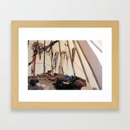 A warriors place Framed Art Print