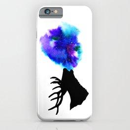 Space deer iPhone Case