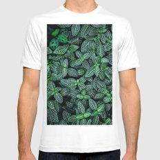 I Beleaf In You White MEDIUM Mens Fitted Tee