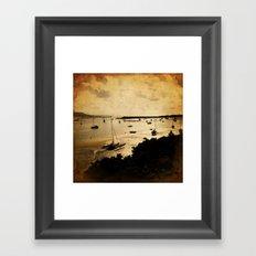 Barmouth Harbour Framed Art Print