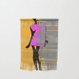 Graffiti Style Fashion Art - By Dominic Joyce Wall Hanging