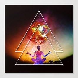 Yoga Energy by GEN Z Canvas Print