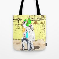 photographer Tote Bags featuring Photographer by lookiz