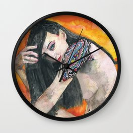 THE EYE OF THE DREAMER Wall Clock