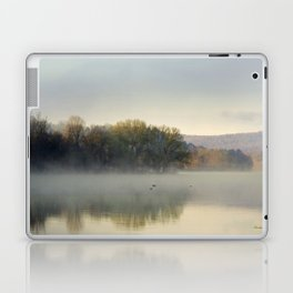 Misty Lake Sunrise Laptop & iPad Skin