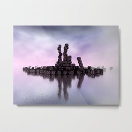 it's not Domino-day today Metal Print