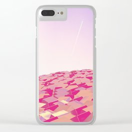 Cubes v3 Clear iPhone Case