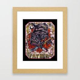 vater/vader Framed Art Print