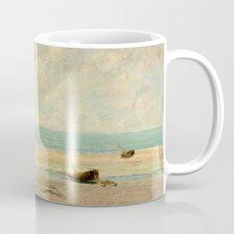 Gustave Courbet - The Calm Sea Coffee Mug