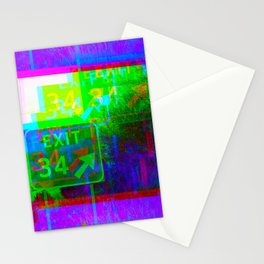 Exit 34 Stationery Cards