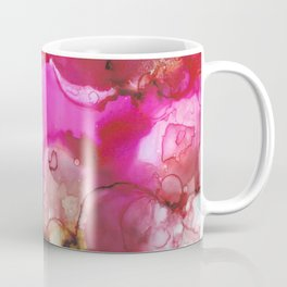 Alcohol Ink 'Avocado Toast' Coffee Mug