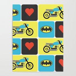 The Bike & The Bat Poster