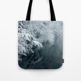 Snowy Winter Landscape | Dutch Nature Photography | Fine art Photo | Tote Bag