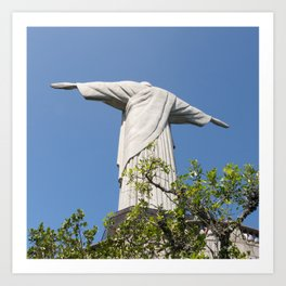 Corcovado, Cristo Redentor, Brasil Art Print