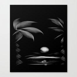 Midnight Paradise Canvas Print