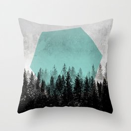 Woods 3 Throw Pillow
