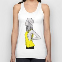 tank girl Tank Tops featuring Tank by fossilized