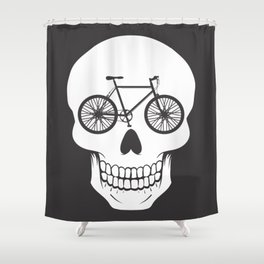Bikehead Shower Curtain