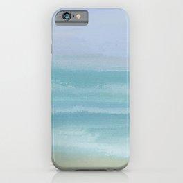 Seashore Small Breakers iPhone Case