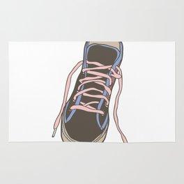 Trainer / Sneaker Illustration Rug