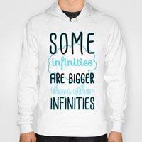 tfios Hoodies featuring Some Infinities - The Fault In Our Stars by Tangerine-Tane