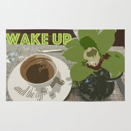 Wake Up & Smell the Coffee Rug