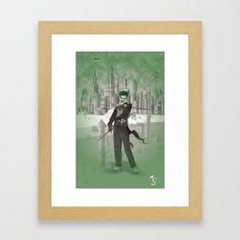 Madman's Grin Framed Art Print