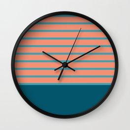 сhristmas tangerine. Wall Clock
