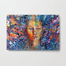 Chi Flow Full painting Metal Print