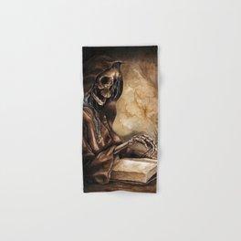 Skeleton Scribe Hand & Bath Towel