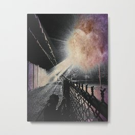 No flash photography during invasion Metal Print