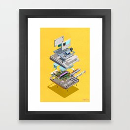 Assembly Required 12 Framed Art Print