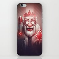 doom iPhone & iPod Skins featuring King of Doom by Dr. Lukas Brezak