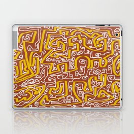 Laberinto 7 Laptop & iPad Skin