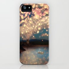 Love Wish Lanterns Slim Case iPhone (5, 5s)