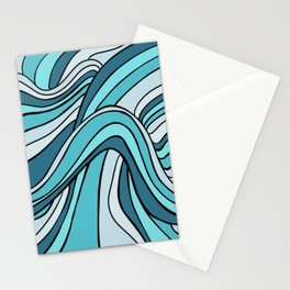 Ocean Waves Of Chaos Stationery Cards