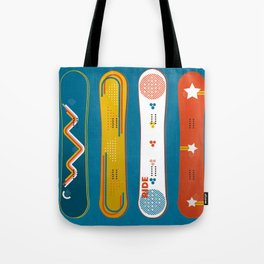 SNOWBOARD DESIGN Tote Bag