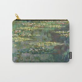Water Lilies 1904 by Claude Monet Carry-All Pouch