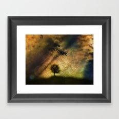 Saint tree Framed Art Print