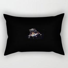 Eagle In Lunar Orbit  Rectangular Pillow