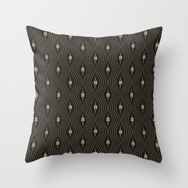 Chinese Double Happiness Symbol  pattern Throw Pillow