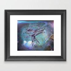 Fly Bird Framed Art Print