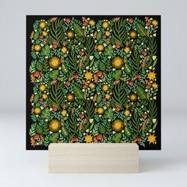 Sunshine Botanical - Dark Version Mini Art Print