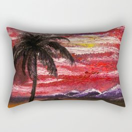 Finger Painting Rectangular Pillow