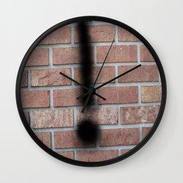 exclamation Wall Clock