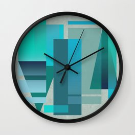 METROPOLIS | blue Wall Clock