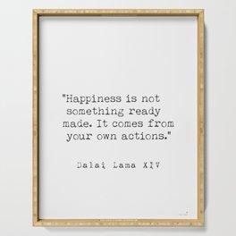 Dalai Lama Happiness Serving Tray